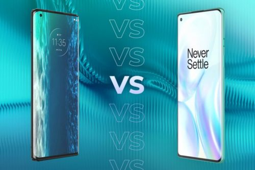 Motorola Edge vs OnePlus 8: Who does sub-£600 phones better?