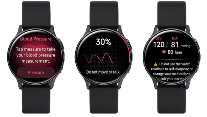 Galaxy Watch Active 2 blood pressure feature finally rolls out in Korea