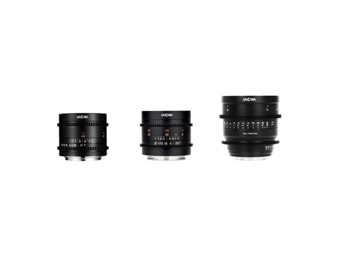 Cine versions of Laowa ultra-wide lenses released for three sensor formats