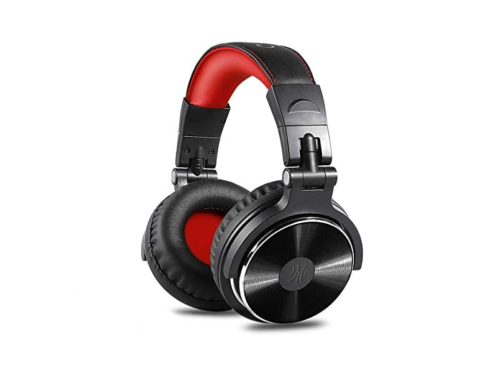 OneOdio Over-Ear Headphones Review: Comes Fordable Lightweight Share Port Mic Recording