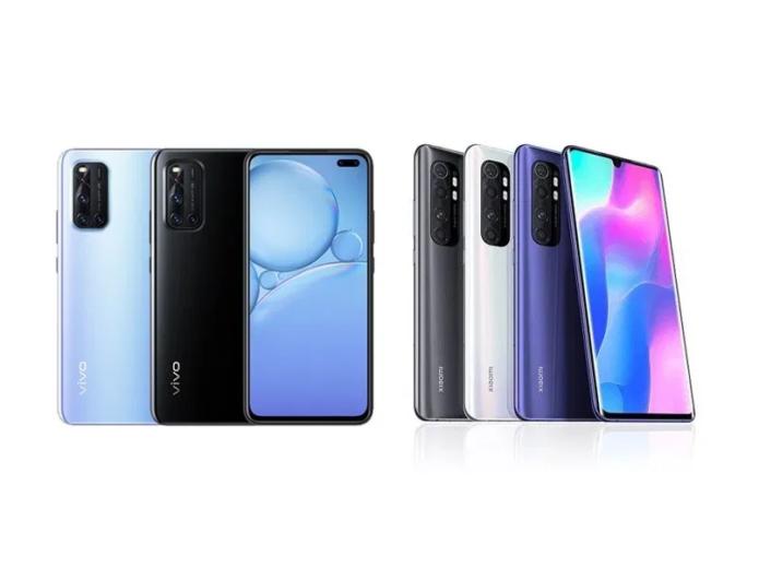 Vivo V19 vs Xiaomi Mi Note 10 Lite specs comparison