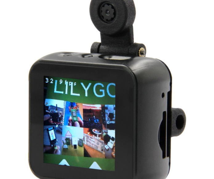 Lilygo T-Watch K210: A cheap base for a smartwatch with a display, camera and Wi-Fi