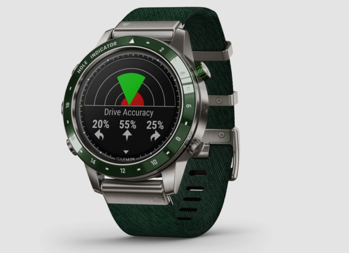 Garmin launches $1,850 Marq Golfer watch made from titanium and ceramic