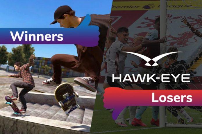 Winners and Losers: Skate 4 kickflips to life while Hawk-Eye soils Premier League return