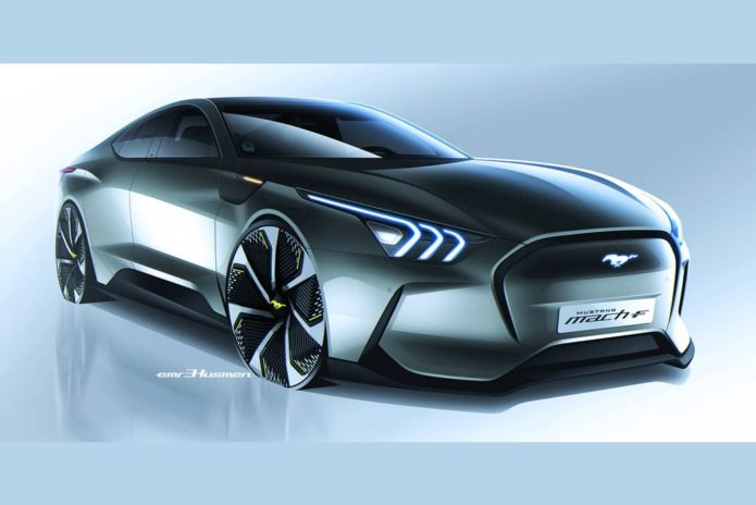 Ford Mach-F sedan imagined
