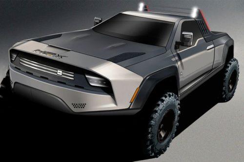 H2X reveals 'Mad Max' ute