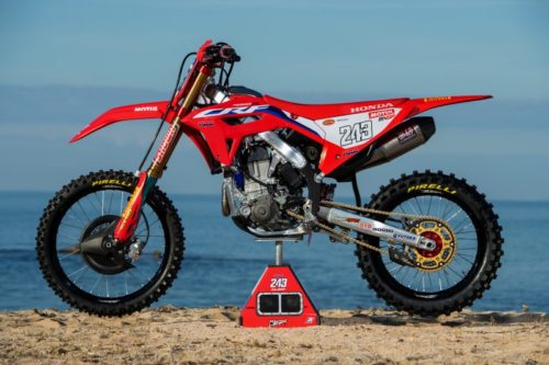 2021 Honda CRF450R Revealed In Design Filings – UPDATED