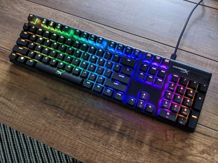 HyperX Alloy Origins review: Same keyboard, new switches, new name