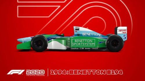 F1 2020 trailer reveals five classic Michael Schumacher cars you can drive