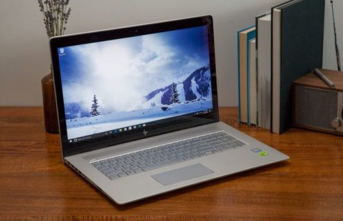 HP Envy 17t: A large multimedia laptop with a few small problems