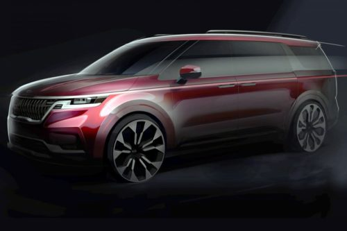New Kia Carnival coming soon