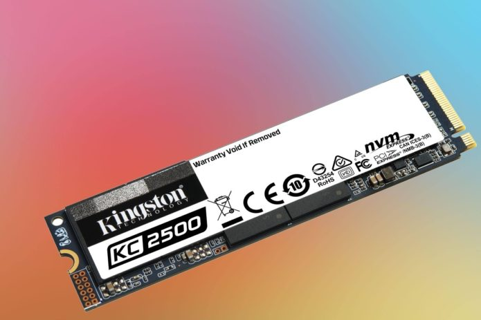 Kingston KC2500 NVMe SSD review: Good performance at a nice price
