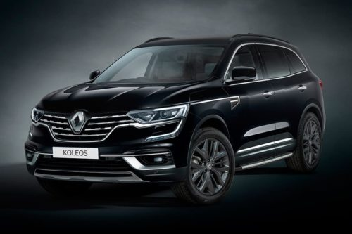 Renault Koleos Black Edition arrives
