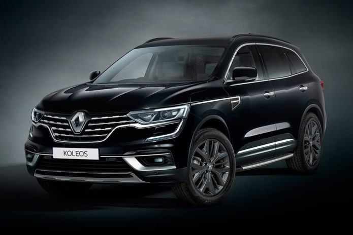 Renault Koleos Black Edition arrives