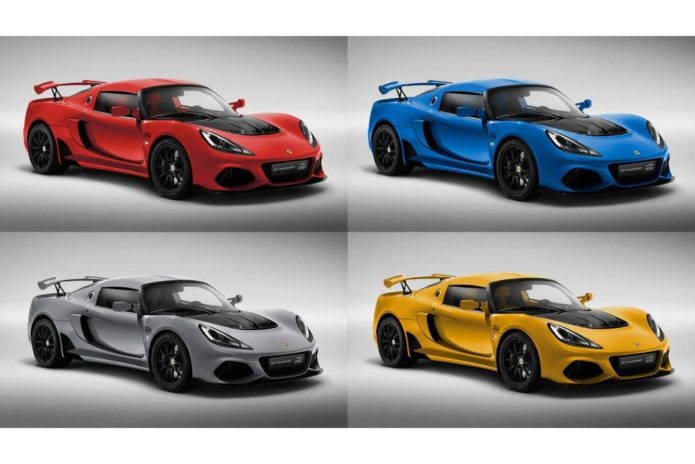 Lotus Exige 20th Anniversary edition makes debut