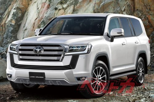 Toyota LandCruiser 300 Series 'Rugged X' on the cards
