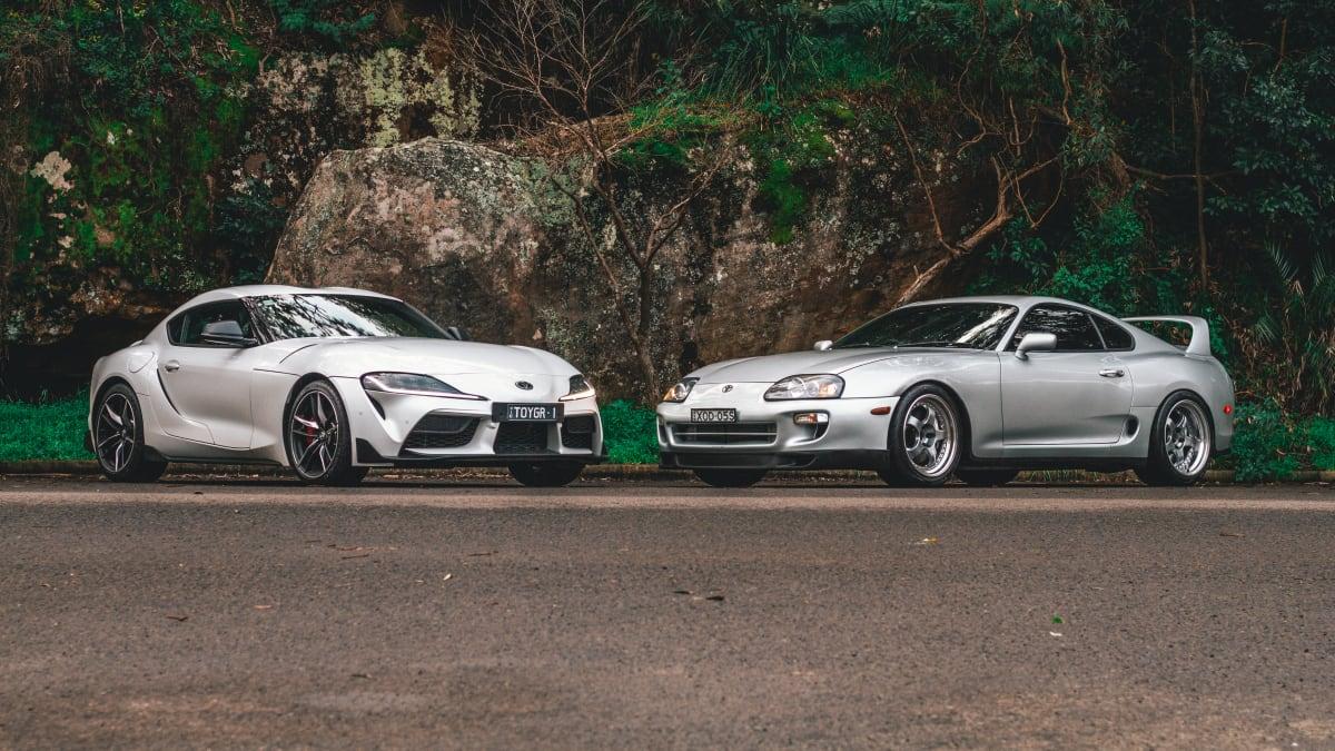 Old v new: 1996 Toyota Supra RZ v 2020 Toyota Supra GTS