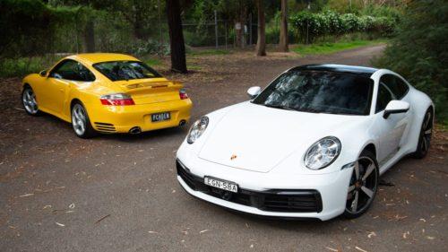 Old v New: 2020 Porsche 992 911 Carrera v 996 911 Turbo comparison
