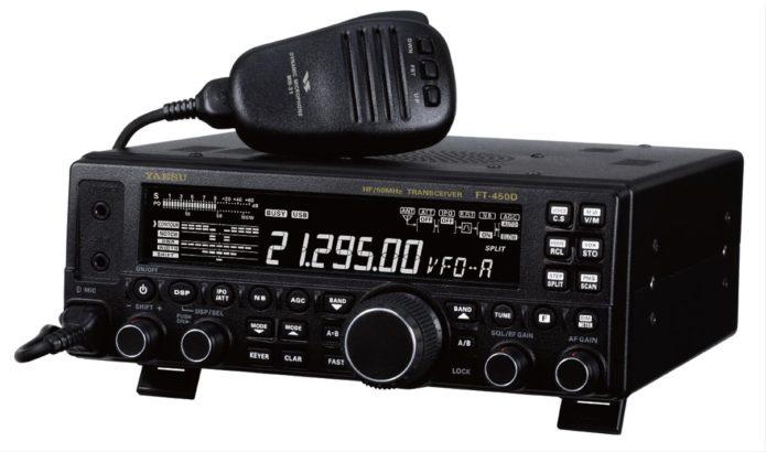 Yaesu FT-450D ham radio