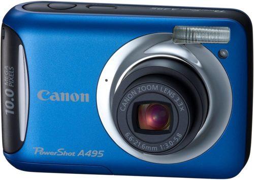 Canon PowerShot A495 Camera