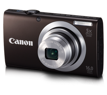 Canon PowerShot A2400 IS Camera
