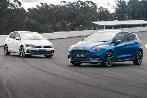 2020 Ford Fiesta ST v Volkswagen Polo GTI Comparison