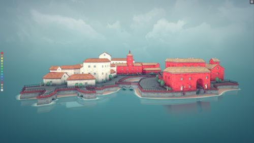 Townscaper impressions: Build picturesque fishing villages with no direction and no drama