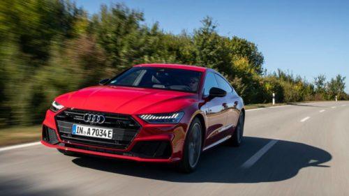2021 Audi A7 55 TFSIe is a high tech plug-in hybrid