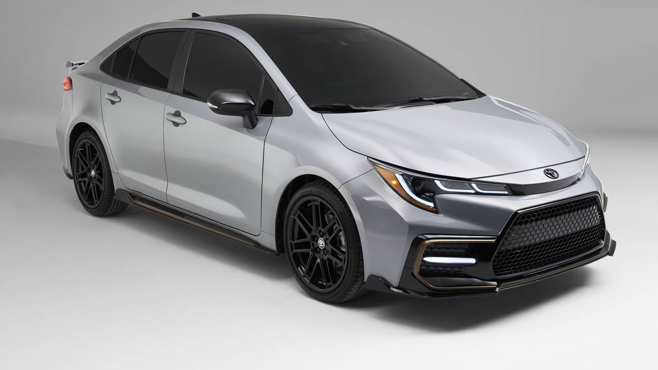 2021 Toyota Corolla Apex Edition combines aggressive styling with sportier handling