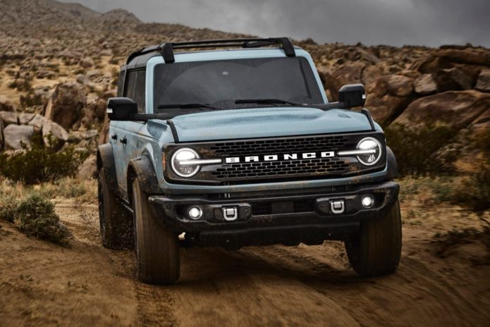 Ford Bronco sold out until mid-2022