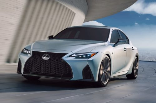 Next Lexus IS 500 could debut new V8