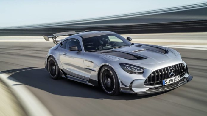 2021 Mercedes-AMG GT Black Series is a 720hp uncompromising halo coupe