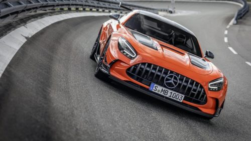 If the AMG GT Black Series in Magma Beam orange doesn't dazzle you, the price might