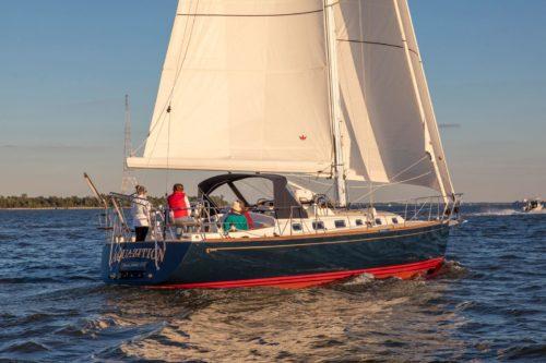 Tartan 395 Boat Review