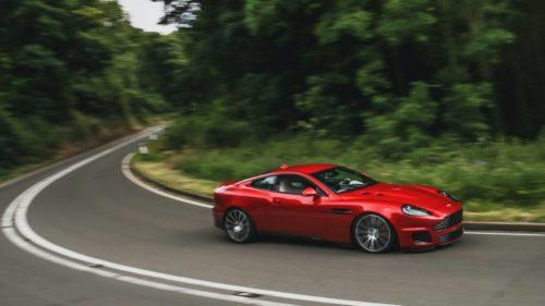 The Aston Martin Callum Vanquish 25 is automotive art by a GT legend
