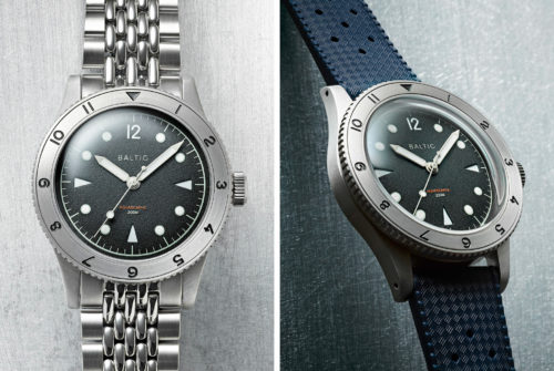 Track a Second Time Zone with This Beautiful Dive Watch
