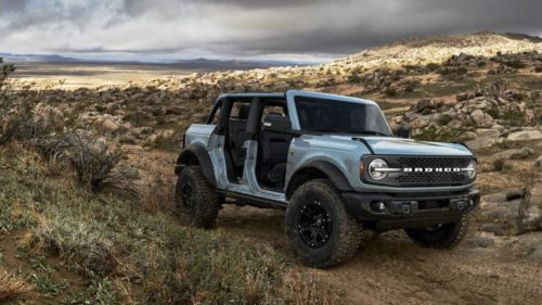 The Ford Bronco Pickup leaks are getting meatier