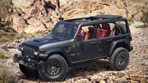 Jeep Wrangler Rubicon 392 Concept teases triumphant HEMI V8