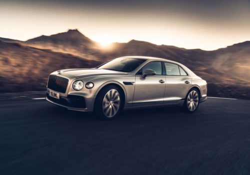 Bentley presents the world's first 3D wood panels in the Flying Spur