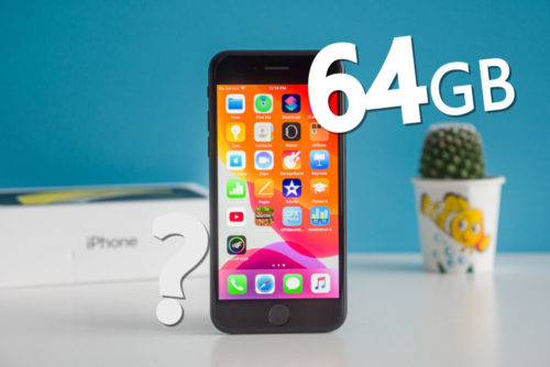 64GB, is it enough for iPhone users?