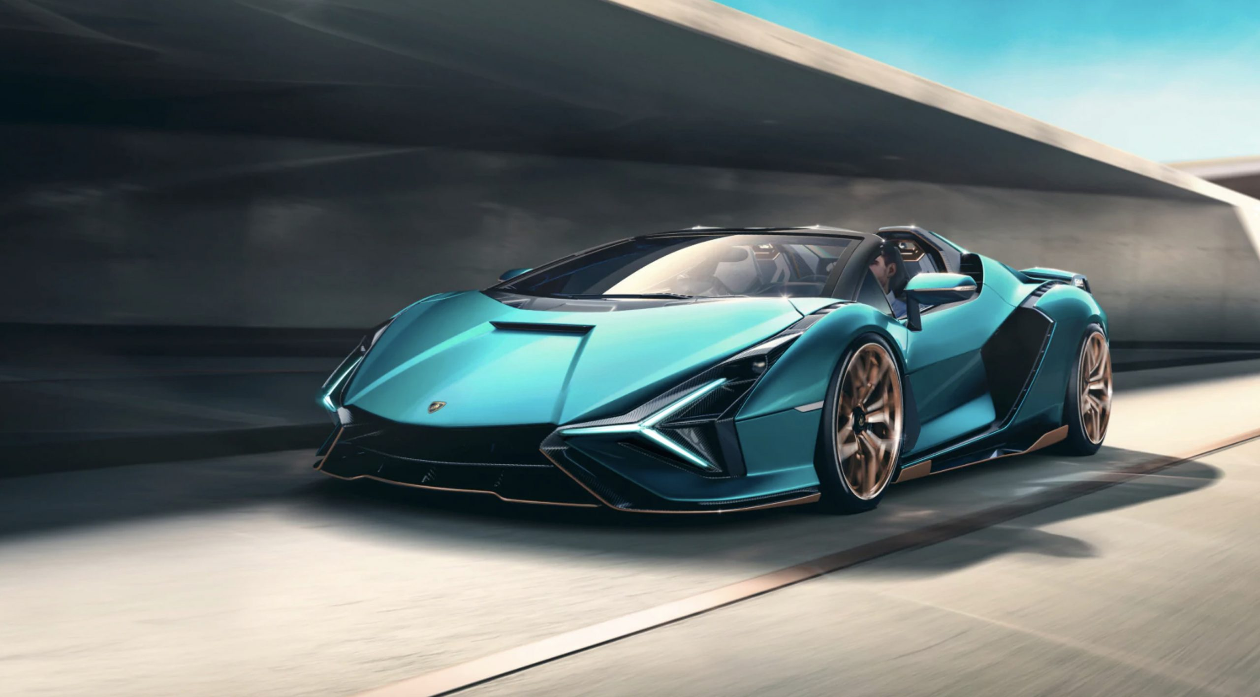 807-HP Lamborghini Sián Roadster Revealed, but It's Already Sold Out