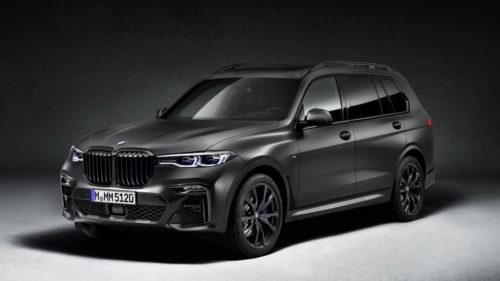 "2021 BMW X7 Edition Dark Shadow puts the ""Sinister"" in SUV"