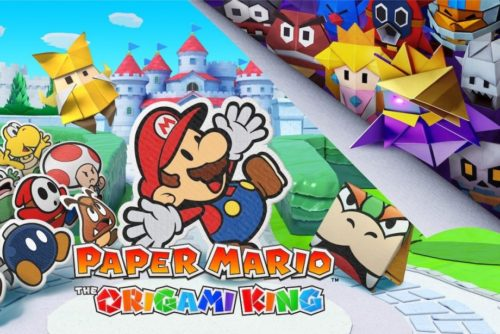 Hands on: Paper Mario: The Origami King Review