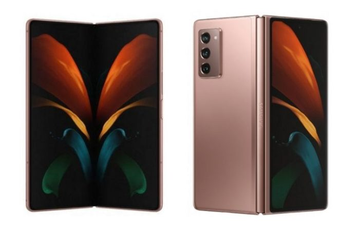 Here's Your Best Look at the Samsung Galaxy Fold 2 5G
