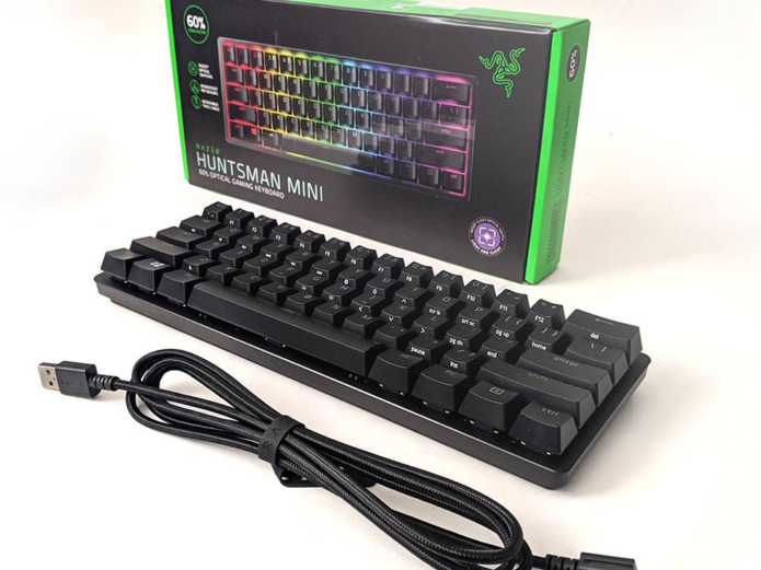 Razer Huntsman Mini Review: Onboard storage and tiny size for the win