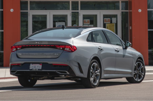 2021 Kia K5 Rolls Out a New Name for the Optima