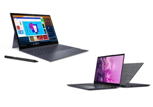 Lenovo Announces Yoga Slim 7 Pre-Order, Yoga Duet 7 Availability