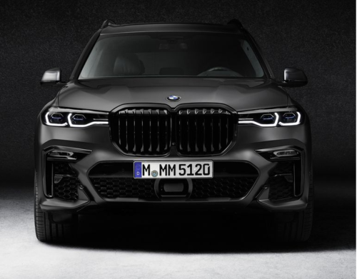 523-HP 2021 BMW X7 M50i Gets Ultra-Exclusive Dark Shadow Edition