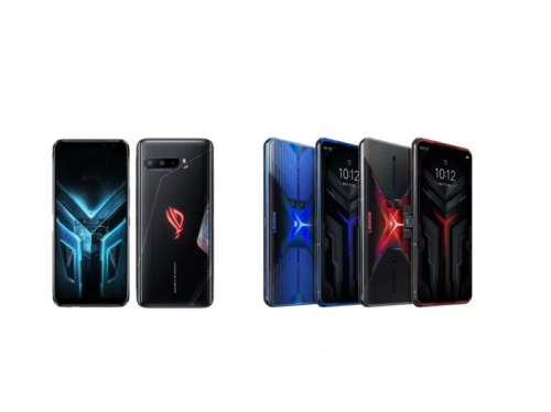 ASUS ROG Phone 3 vs Lenovo Legion Phone Duel specs comparison