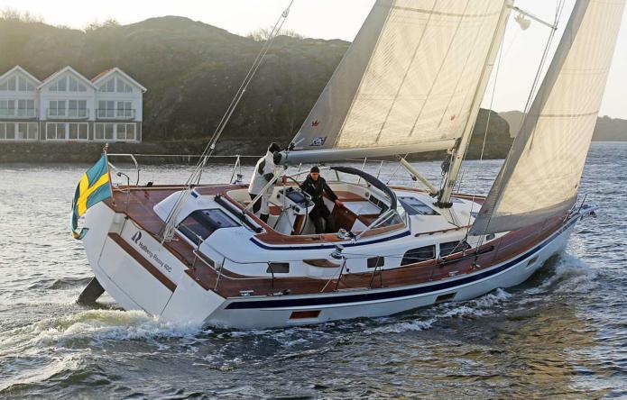 Hallberg-Rassy 40C: The best sailing boat Hallberg-Rassy has ever built?
